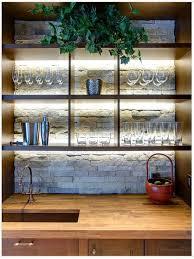 shelf lighting ideas. 20 creative basement bar ideas lightinglighting designcabinet shelf lighting e