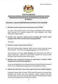 Adakah saya dibenarkan untuk rentas negeri untuk tujuan kerja/perniagaan? Ktps Consulting Cmco Faqs Issued By Miti Facebook