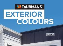 Colour Cards Taubmans Paints