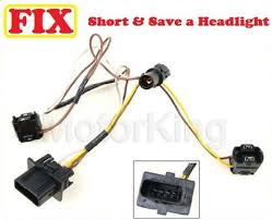 mercedes e headlight wire wiring harness connector repair b 96 00 mercedes e320 headlight wire wiring harness connector repair b360