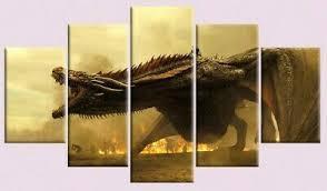Game of Thrones <b>Daenerys Targaryen</b> Jon Snow Ned Stark 5 Piece ...