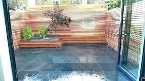 deck privacy wall fence outdoor ideas cedar screen trellis plans