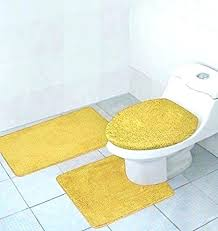 gold bath rugs bathroom rug sets cool for your design with white yellow