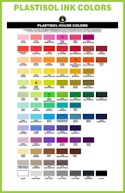 Plastisol Color Mixing Chart Download Clipart On Clipartwiki