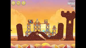 Angry Birds Rio Golden Beachball Level #28 Walkthrough - YouTube