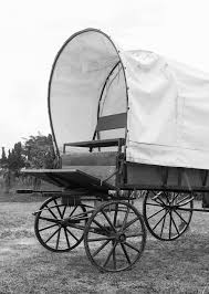 black and white covered wagon. black \u0026 white covered wagon and a