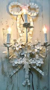 sconces shabby chic wall sconce sconces candles large lighting s shabby chic wall sconce