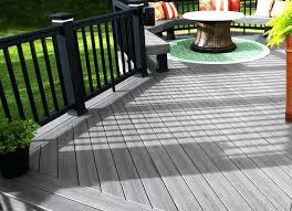 O Trex Deck Cost Decking How Much Does A Curved  Per