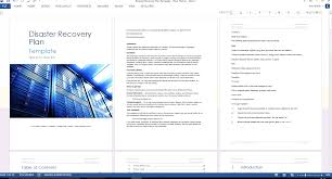Disaster Recovery Plan Template Disaster Recovery Plan Template MS WordExcel 10