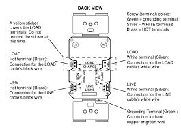 wiring a gfci outlet how to wire line and load schematics gfci outlets and wiring diagram