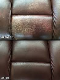 Leather Couch Restoration Amazoncom Leathernu Complete Leather Color Restoration Repair