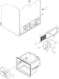 amana amana refrigerator parts model abb2527dew2 sears partsdirect