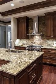 Kitchen Backsplash With Granite Countertops Enchanting This Design Is A Great Mix Of Colors And Perfect Match Of White