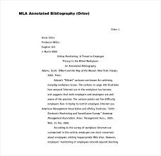 9 Mla Bibliography Templates Free Pdf Doc Format