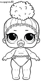 Lol Doll Coloring Pages Boss Queen Series 3 Wave 2 Surprise Doll