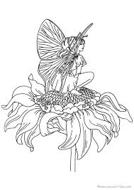 Evil Fairy Coloring Pages For Adults Color Bros