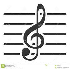Music Staff Treble Clef Treble Clef And Musical Staff Stock Vector Illustration Of Tune