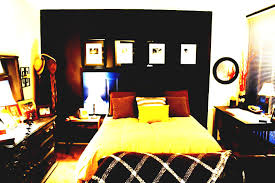 apartment bedroom designs. Fine Apartment Incridible Studio Apartment Bedroom Decorating For Men With Brown Color  Schemes Pretty Masculine Ideas Guys College On Apartment Bedroom Designs 2