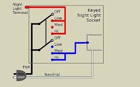 way lamp a keyed nightlight socket has three terminals