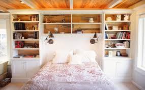 Bookcase Headboard King Decor
