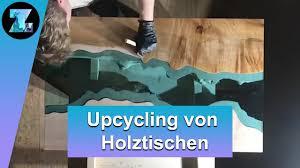 Holzige Harzkunst Diese Tische Zeigen Mut Zur Farbe Youtube