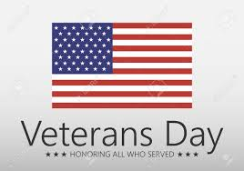 vector ilration veteran s day poster template stars with u s a stock vector 67163329
