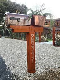 Wooden Mailbox Posts Free Wooden Mailbox Post Plans Wooden Double