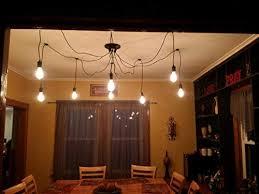 diy ceiling lighting. Kiven 6 Heads Vintage Chandelier DIY Home Ceiling Light Fixtures Edison  Bulb Pendant Lights Wire Lighting Diy Ceiling Lighting