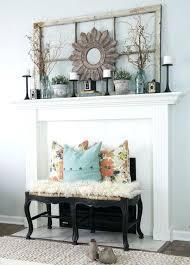 mantel decorating ideas for brick fireplace mantle decor best amazing red decorat