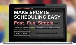 Diamond Scheduler Make Sports Scheduling Easy Steemhunt