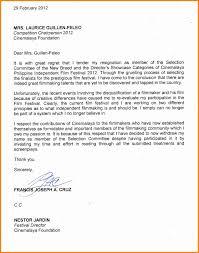 Resignation Letter Resignation Letter For School Reason Sample