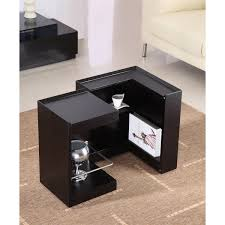 jm furniture  pb modern end table mini bar  homeclickcom