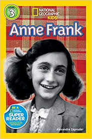 anne frank national geographic kids super readers level 3 amazon co uk alexandra zapruder 9781426313523 books