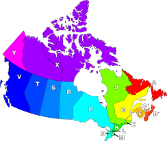 Area Code Chart In Numerical Sequence Postal Codes In Canada Wikipedia