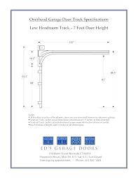 garage door header size post garage door header size chart