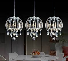 lightess com supplies lightess modern crystal chandelier pendant lighting 3 lights chrome finish for dining