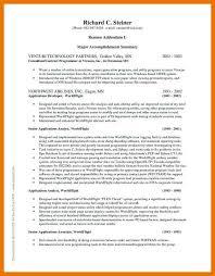 7 8 Professional Accomplishments Examples 1trader1 Com