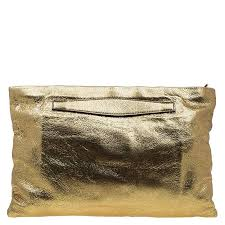 prada gold led leather oversized clutch nextprev prevnext