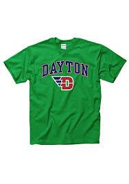 flyers green jersey dayton flyers mens green arch mascot short sleeve t shirt 22782576