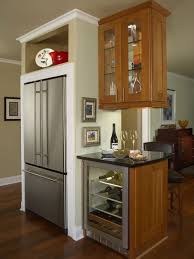 jenn air built in refrigerator. inspiration for a contemporary kitchen remodel in detroit with stainless steel appliances jenn air built refrigerator