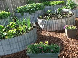 Small Picture garden ideas Creative Garden Bed Design Inspirational Home