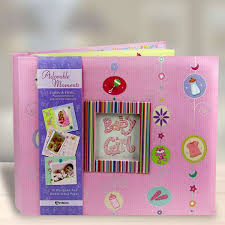Baby Photo Album Book Baby Girl Scrap Album