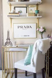 ikea office decor. Great And Easy IKEA Hack! This Desk Is $39.90 Just Spray Painted Gold With Ikea Office Decor
