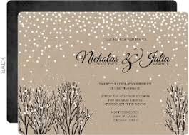 Rustic Winter Wedding Invitations Winter Wedding Invitations Winter Wedding Invites