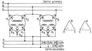 2 Transformer 3 Phase Circuitos Electricos Electrical
