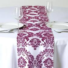 table runners canada. eggplant purple table runners canada satin r