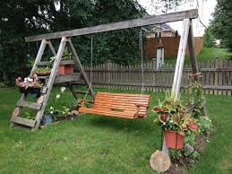 Small Picture The Super Creative Garden Swing Ideas That Can Beautify Your Yard