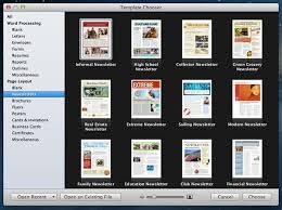 newsletter template for pages how to customize templates in iwork apps for mac the mac observer