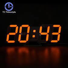 digital alarm clocks home decor modern