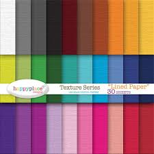 Lined Papers Best Rainbow Texture LINED Digital Papers Digital Scrapbooking Etsy